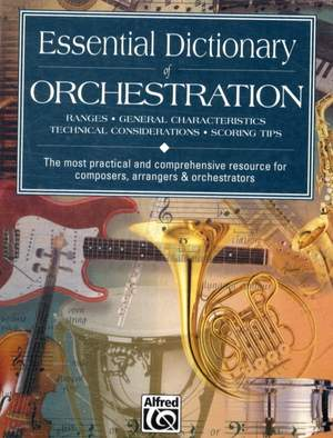 Tom Gerou_Dave Black: Essential Dictionary Of Orchestra