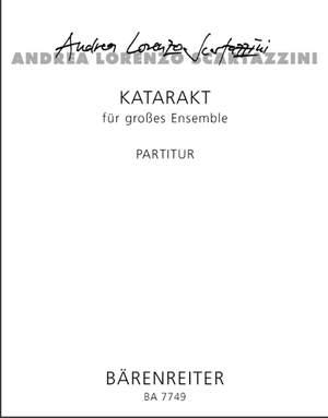 Scartazzini, A: Katarakt (1995/96) for Large Ensemble Op.38