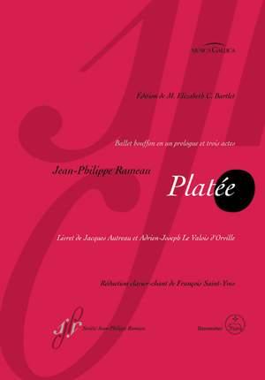 Rameau, J: Platee (F) (Urtext)