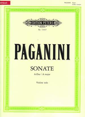 Paganini, N: Sonata in A