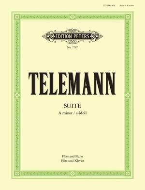 Telemann, G: Suite in A Minor