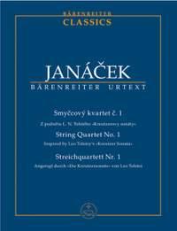 Janacek, L: String Quartet No.1 (Inspired by Tolstoy's Kreutzer Sonata) (Urtext)