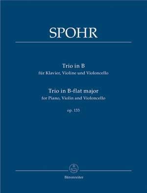 Spohr, L: Piano Trio in B-flat, Op.133