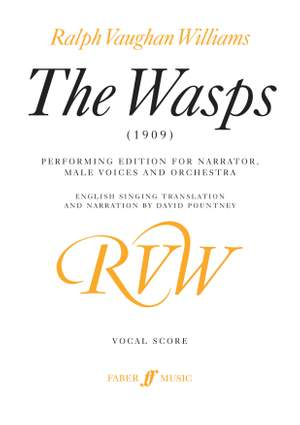 Vaughan Williams, Ralph: Wasps, The (vocal score)