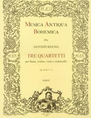 Reicha: Tre quartetti no. 4-6 e-Moll, A-Dur, D-Dur op. 98