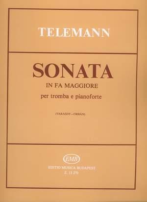 Telemann, Georg Philipp: Sonata in fa maggiore