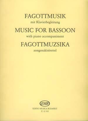 Hara, Laszlo: Music for Bassoon (Bassoon and piano)