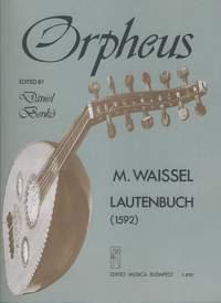 Waissel, Matthaus: Lute Book