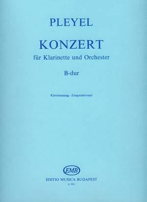 Pleyel, Ignaz: Konzert fur Klarinette B-dur