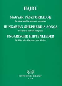 Hajdu, Mihaly: Hungarian Shepherd's Songs