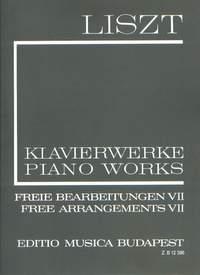 Liszt: Free Arrangements VII (paperback)