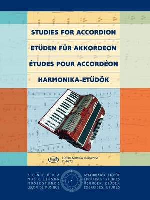 Bartok, Karola: Accordion Etudes
