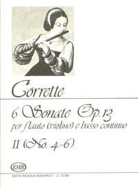 Corrette, Michel: 6 Sonate per flauto (violino) e basso co