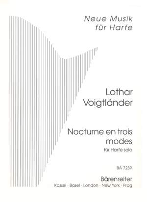 Voigtlaender, L: Nocturne in Three Modes for Solo Harp