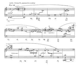 Herchet, J: Composition for Solo Harp