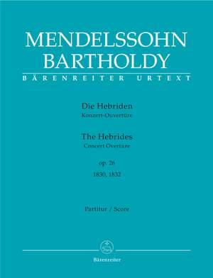 Mendelssohn, F: Hebrides, The. Overture Op.26 (Urtext)