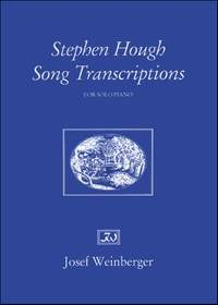 Stephen Hough: Song Transcriptions