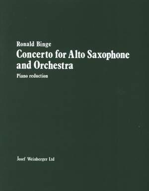 Binge: Concerto for Alto Saxophone
