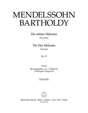 Mendelssohn, F: Fair Melusine, The. Overture Op.32 (Urtext)