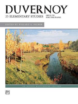 Jean-Baptiste Duvernoy: 25 Elementary Studies, Op. 176