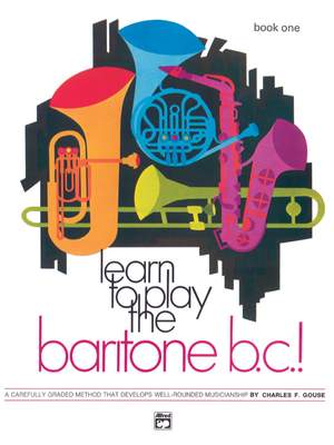 Learn to Play Baritone B.C.! Book 1 Product Image