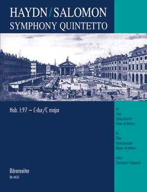 Haydn, FJ: Symphony No. 97 in C (Hob.I:97) arranged for Chamber Ensemble