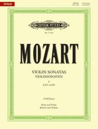 Mozart: Violin Sonatas Volume 1