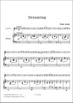 Frank Arnold: Four Melodies #2 - Dreaming Vln Vc Pn