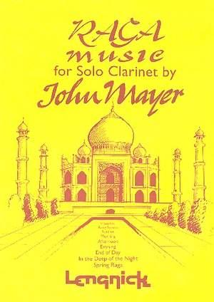 Mayer: Raga Music for Solo Clarinet
