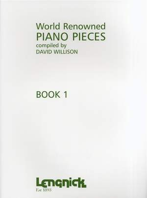 Willison (ed.): World Renowned Piano Pieces Book 1