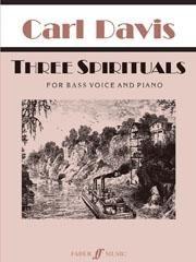 Davis, Carl: Three Spirituals (bass and piano)