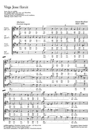 Bruckner: Virga Jesse (WAB 52)