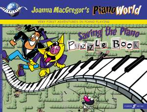 Joanna MacGregor: PianoWorld. Saving the Piano Puzzle Book