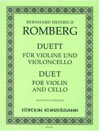 Romberg, Bernhard: Duett für Violine und Violoncello