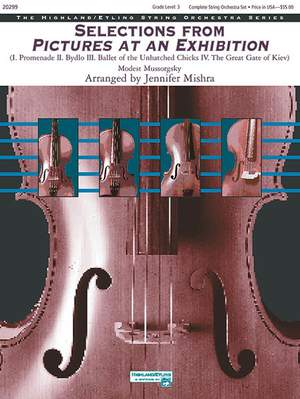 Modest Mussorgsky: Selections from Pictures at an Exhibition