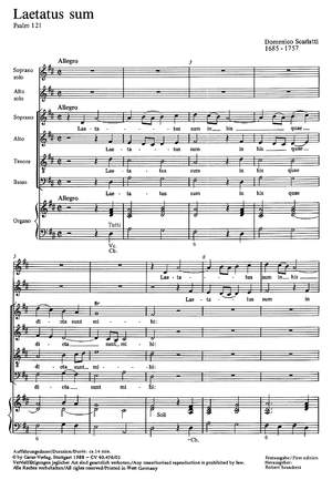 Scarlatti: Psalm 121