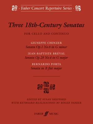 Jean-Baptiste Breval_Chinzer: Three 18th-Century Sonatas