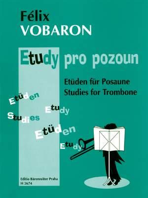 Vobaron, F: Studies for Trombone