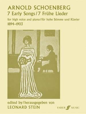 Arnold Schönberg: Seven Early Songs