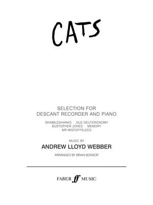 Lloyd Webber, Andrew: Cats Selection (descant recorder part)