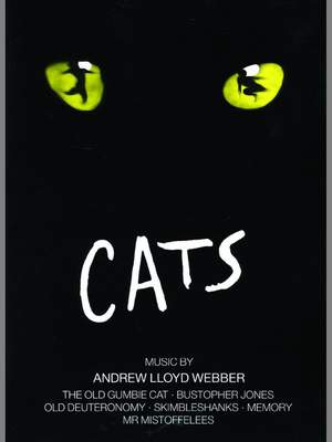 Lloyd Webber, Andrew: Cats Selection (descant recorder & pno)