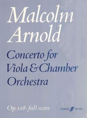 Malcolm Arnold: Concerto for Viola