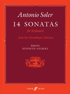 Soler, Antonio: Fourteen Sonatas for keyboard Product Image