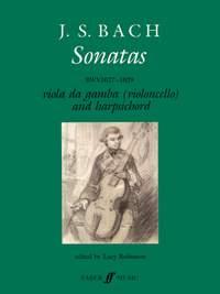 Johann Sebastian Bach: Gamba Sonatas (viol or cello/cont)