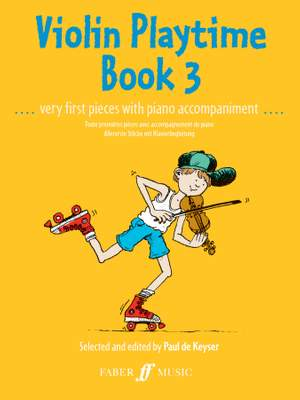 Paul de  Keyser: Violin Playtime Book 3