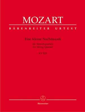 Mozart, WA: Eine kleine Nachtmusik (K.525) (Urtext)
