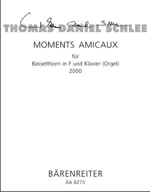Schlee, T: Moments Amicaux Op.50a