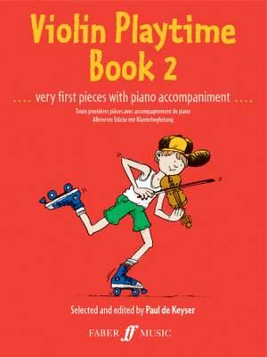 Paul de  Keyser: Violin Playtime Book 2