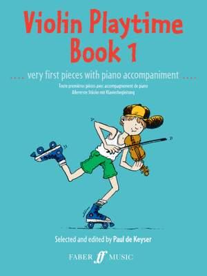 Paul de  Keyser: Violin Playtime Book 1