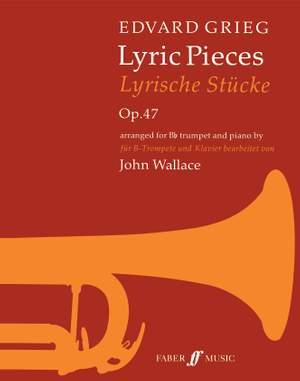 Grieg, Edvard: Lyric Pieces (trumpet and piano)